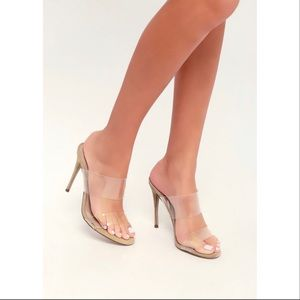 5f27bdb851d Steve Madden Shoes - Never Worn Steve Madden Charlee Clear Stiletto